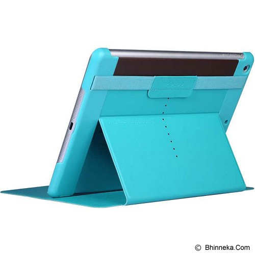 BASEUS Nappa Case Apple iPad Air [LTAPIPAD5-TSCY] - Cyan - Casing Tablet / Case